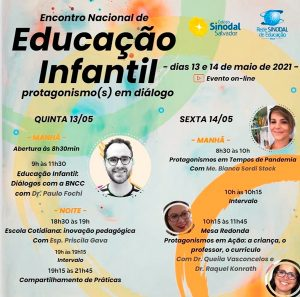 ENCONTRO NACIONAL DE EDUCAÇÃO INFANTIL