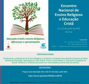 Encontro Nacional de Ensino Religioso e Educação Cristã